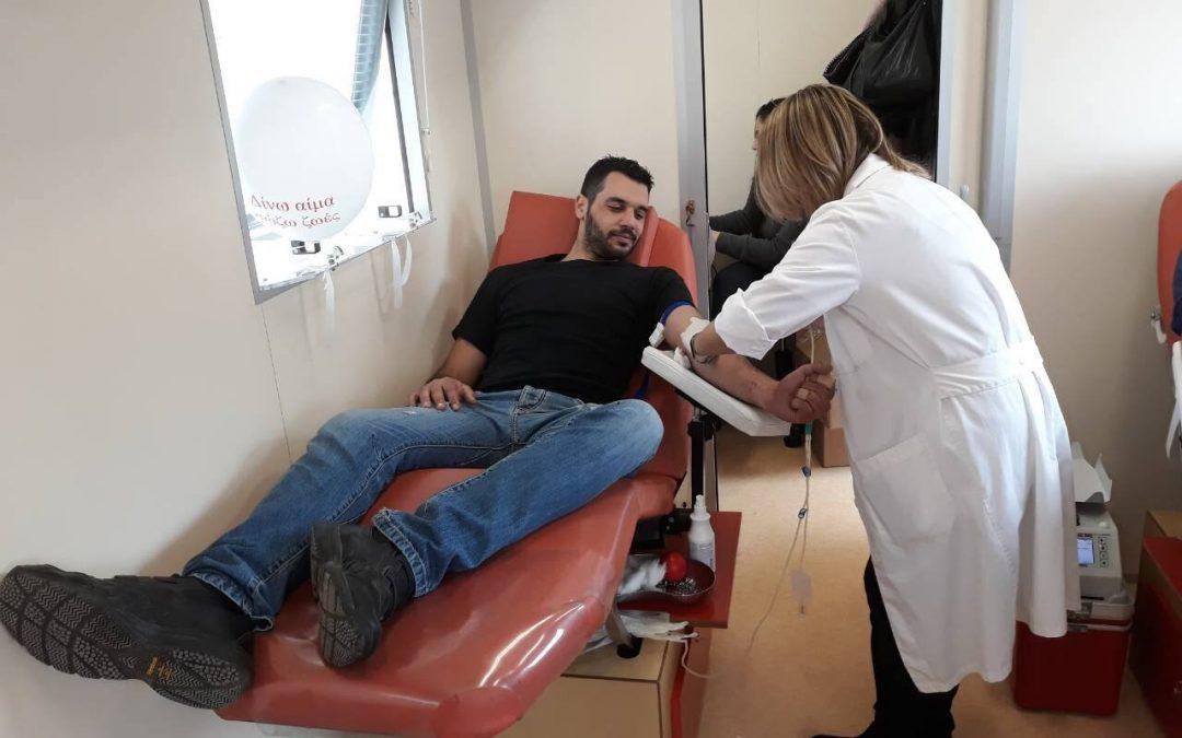 Παγκόσμια Ημέρα Εθελοντή Αιμοδότη στο Ηράκλειο