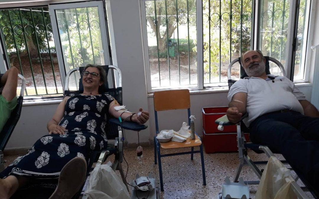 Εθελοντική αιμοδοσία την Κυριακή 15 Ιουλίου