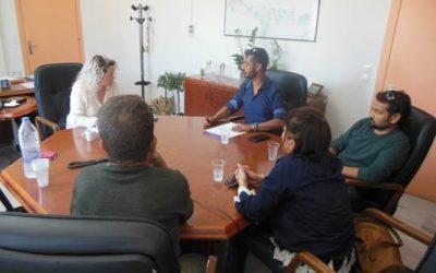 Συνάντηση Διοικήτριας με Σύλλογο Θαλασσαιμίας Ν Ηρακλείου -Λασιθίου